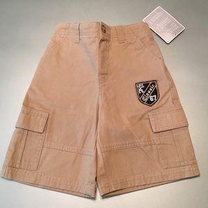 NWT: Koala Kids Preppy Cargo Shorts (Pull-On)